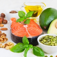 Foods with high content of healthy fat