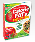 Larger-Print Edition CalorieKing Calorie, Fat and Carbohydrate Counter