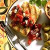 Cod with Greek Salsa