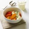 Persimmon with Honeyed Yogurt