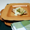 Broiled Tilapia with Mustard and Yogurt Sauce