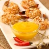 Coconut Shrimp with Ginger Mango Sauce