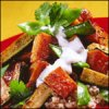 Middle Eastern Couscous with Roasted Vegetables