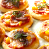 Vegetarian Pita Pizzas