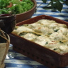 Cabbage Parcels with Squash Ricotta Sauce
