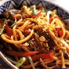Thai Lamb and Noodle Stir-Fry