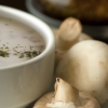 Cream of Mushroom Soup - Without the Cream