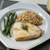 Fish Fillets with Creamy Mushroom Sauce