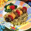 Grilled Hawaiian Beef Kebobs