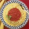 Spaghetti with Vegetarian Italian Sauce