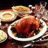 Southern Roast Turkey with Bourbon Peach Glaze