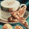 Walnut Cappuccino Biscotti