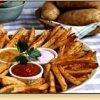 Mild, Medium and Hot Idaho Potato Fries
