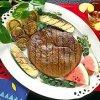 Grilled Steak and Vegetables Parmesan