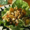 Black-Eyed Peas and Walnut Lettuce Wraps