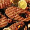 Lemon and Fennel Salmon Steaks