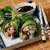 Asian Bean and Rice Rolls