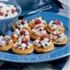 Fruity Cottage Waffles with Orange Cream