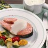 Fish Fillets with Yogurt Sauce
