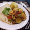 Grilled Fish with Ratatouille
