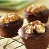 Chocolate Raspberry Brownie Bites with Walnuts