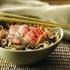 Asian Noodles with Poached Alaska Salmon