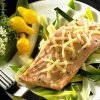 Salmon on a Bed of Leeks