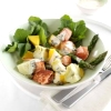 Salmon and Mango Salad with Chive Dressing