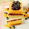 "Blueberry-Citrus Sorbet ""Layer Cake"""