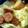 Quick Cabbage Kielbasa