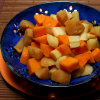 Honey-Roasted Parsnips with Sweet Potatoes and Apples