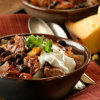 Chunky Pork and Sausage Chili