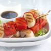 Grilled Scallops and Watermelon Kebobs