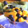 Blueberry-Mango Colada Salad