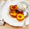 Grilled Peaches with Vanilla Ricotta